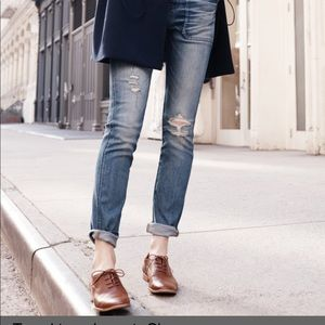 Cute Madewell leather loafers #180221002